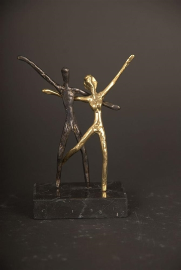 Bronzefigur Happy Moments af Yanni Souvatzoglou