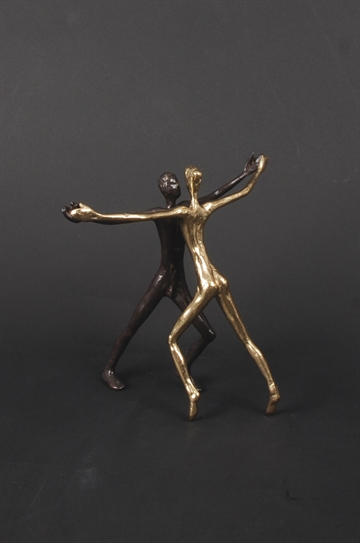 "Bronzefigur ""It Needs Two To Tango"" af Yanni Souvatzoglou"