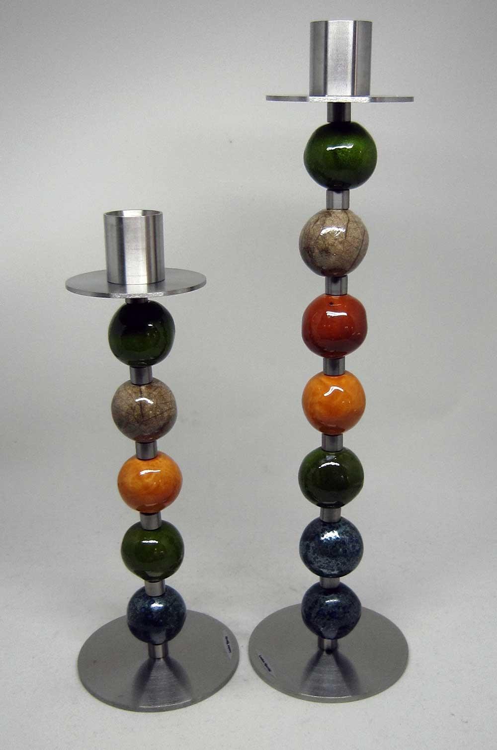 keramik lysestager Keramik lysestager jordfarver af Louise Hjerrild keramik lysestager